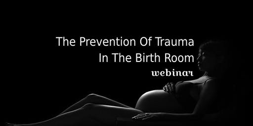 The Prevention Of Trauma In The Birth Room Webinar