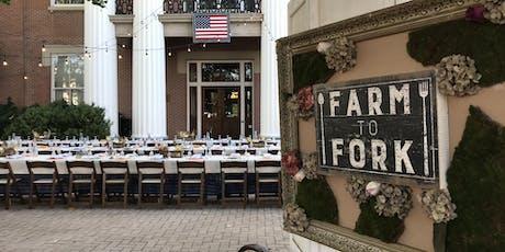 Downtown on the Farm Farm to Table Dinner  tickets