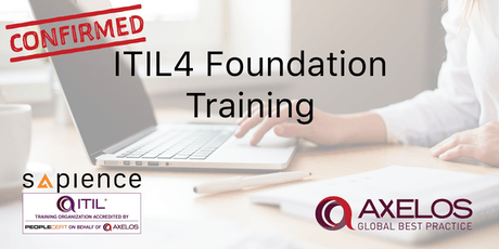 ITIL4 Foundation Training - Brunei (3 Days Instructor Led Classroom Training - Confirmed Class) tickets