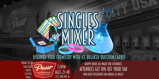 Project: First Dates - Singles Mixer at the POUR TAPROOM - 21-40