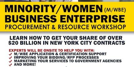 M/WBE Procurement & Resource Workshop tickets