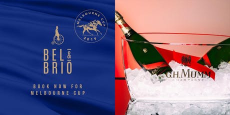 Celebrate Melbourne Cup at Bel and Brio! tickets