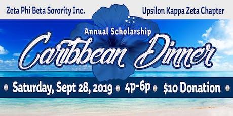 Annual Scholarship Caribbean Dinner  tickets