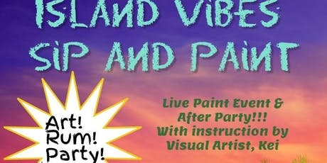 Island Vibes Sip and Paint tickets
