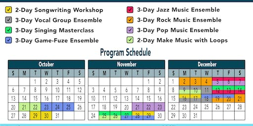 School Holiday Music Program - Game-Fuze Ensemble