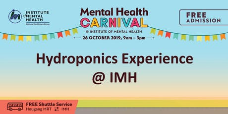 Hydroponics Experience @ IMH tickets