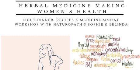 DIY Medicine Making - Women's Health tickets