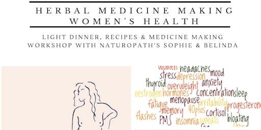 DIY Medicine Making - Women's Health