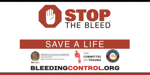 October Stop the Bleed