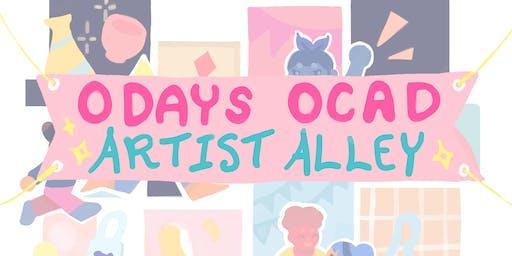 OCAD Artist Alley 2019