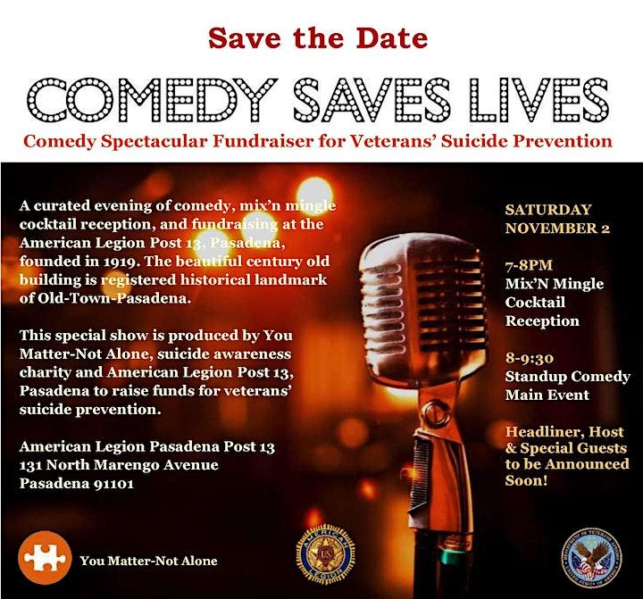 Comedy Saves Lives image