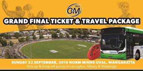 SS&A Ovens & Murray Football Grand Final | Ticket & Travel tickets