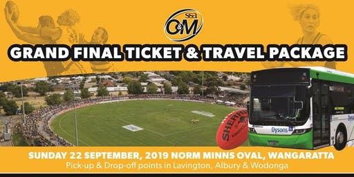 SS&A Ovens & Murray Football Grand Final | Ticket & Travel
