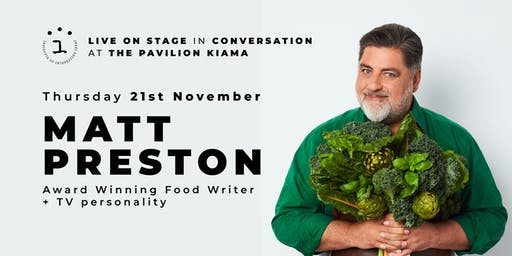 The Institute of Interesting Ideas Presents Matt Preston