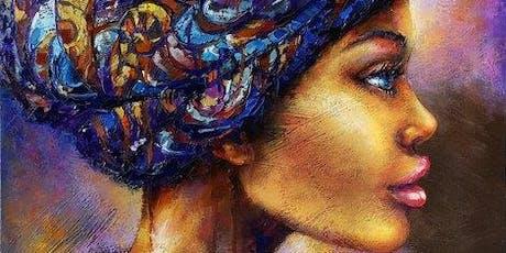 ART & AFROBEATS: Paint & Sip Party tickets