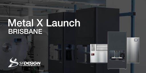 Markforged Metal X Launch Brisbane