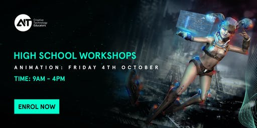 School Holiday Workshop (SYD): Explore the world of Animation