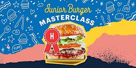 Huxtaburger Eastland's Junior Burger Masterclasses tickets