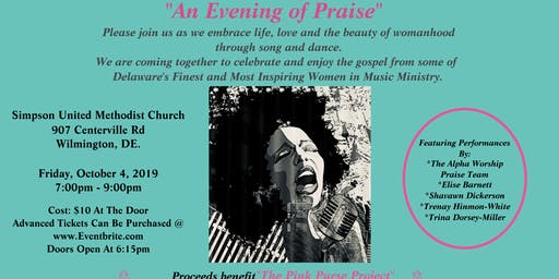"SHE SINGS...""An Evening of Praise"""