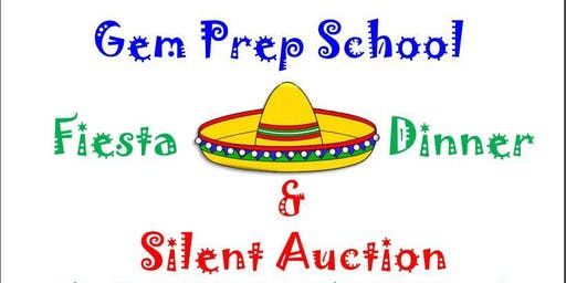 Gem Prep Fiesta Dinner and Silent Auction