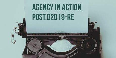 Agency in Action Session 2 Module H  tickets