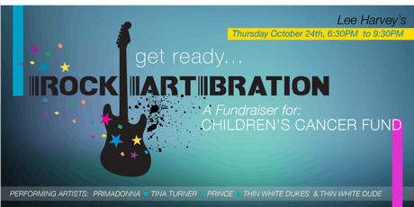 RockArtBration for Children's Cancer Fund tickets