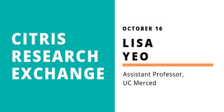 CITRIS Research Exchange - Lisa Yeo tickets