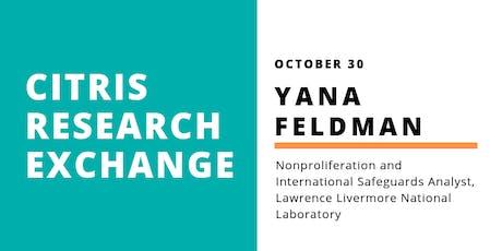 CITRIS Research Exchange - Yana Feldman tickets