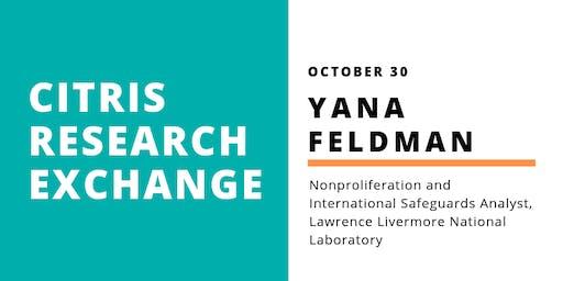 CITRIS Research Exchange - Yana Feldman