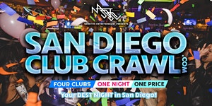 San Diego Club Crawl - Guided party tour to 4 SD...