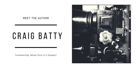 Meet The Author: Whose Story Is It Anyway? with Craig Batty and Laura Clelland tickets
