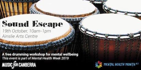 Sound Escape - Free Drumming Workshop tickets