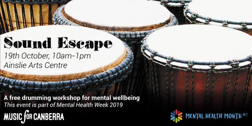 Sound Escape - Free Drumming Workshop