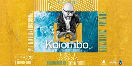 Well.Play agency pres: Let's Play KOLOMBO (BEL /Loulou Records/Dirtybird) tickets