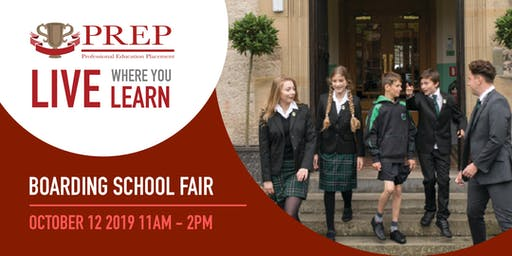American School Foundation (ASF) and PREP Boarding Annual Boarding School Fair!