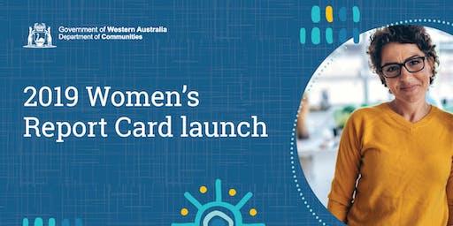 Women's Report Card launch