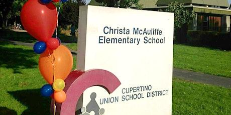 Christa McAuliffe School Tours, 2019-2020 tickets