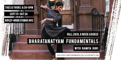 Bharatanatyam Fundamentals with Ramita Ravi - Fall 2019 Session