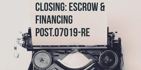 Closing: Financing and Escrow Session 7 Modules L & M  tickets