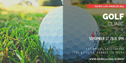 NAWIC Los Angeles Golf Clinic