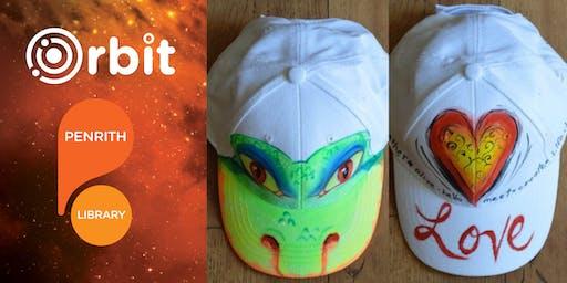 WEARABLE ART! DESIGN A CAP