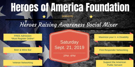 Heroes Raising Awareness Social Mixer tickets