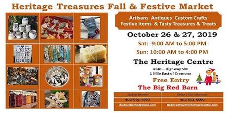 Heritage Treasures Fall & Festive Market tickets