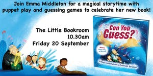 Special Storytime with Emma Middleton: Can You Guess?