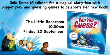 Special Storytime with Emma Middleton: Can You Guess? tickets