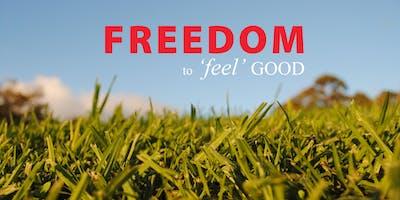 FREEDOM to feel GOOD Workshop. PARC.