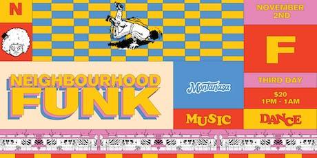 Neighbourhood Funk tickets