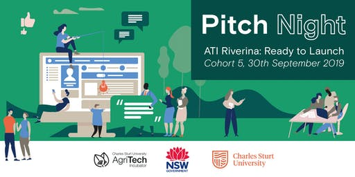 ATI Riverina: Ready to Launch - Pitch Night!