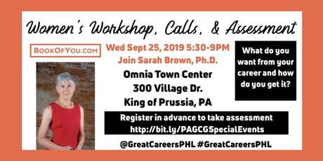 Women's Workshop, Calls, & Birkman Career Assessment tickets
