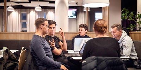 Att leda människor, projekt och företag biljetter